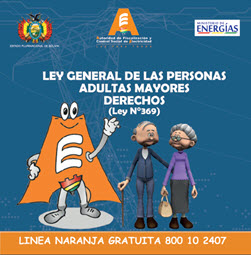 ADULTO MAYOR LEY 369: LEY GENERAL DE LAS PERSONAS ADULTAS MAYORES